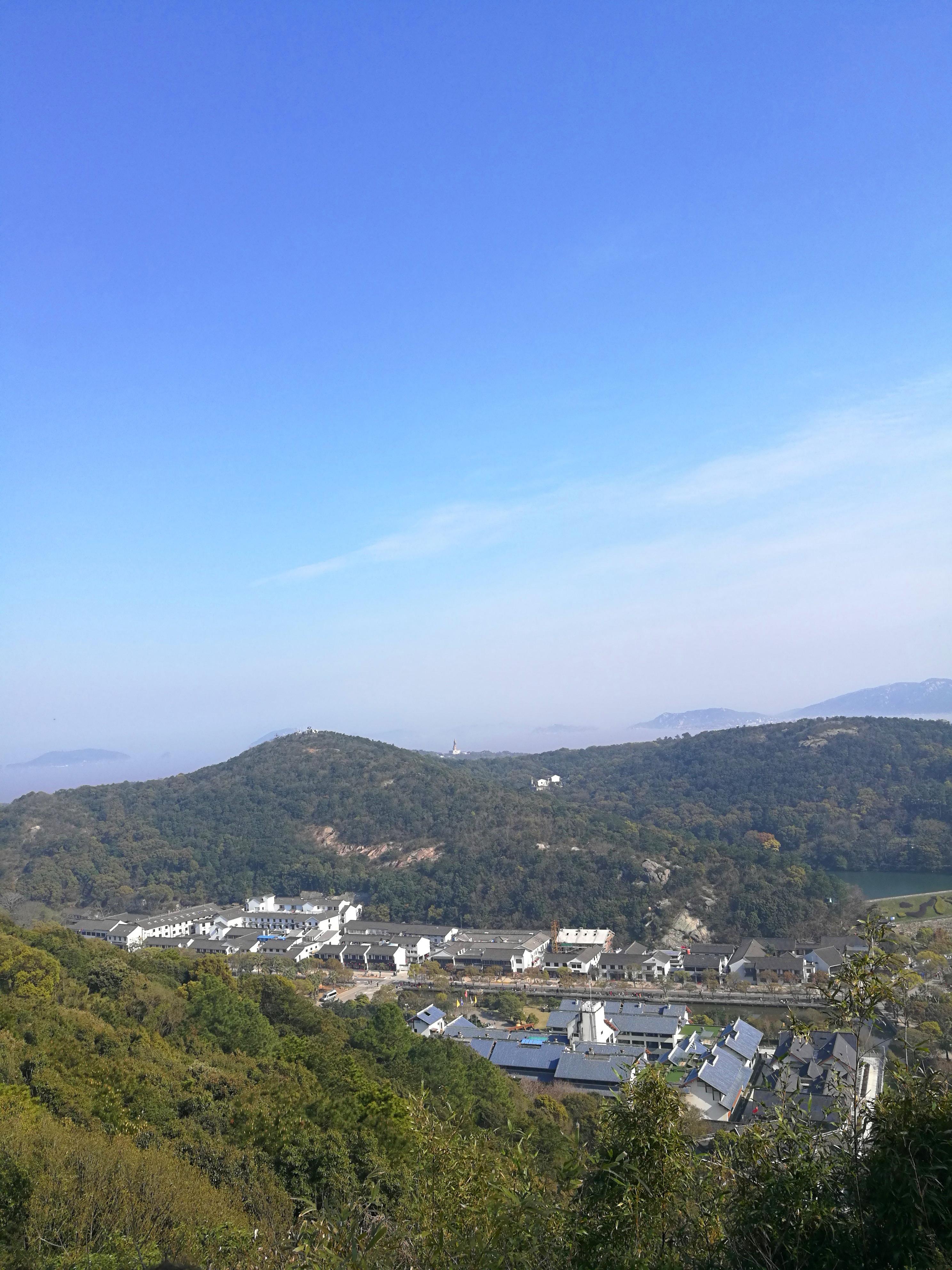 普济寺山顶